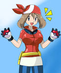 May (Haruka) - Pokemon Ruby/Sapphire by Cellshadfan