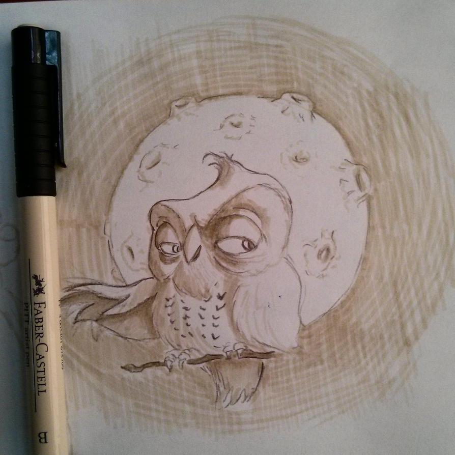 Owl's are awsome =) by AJDragonTamer
