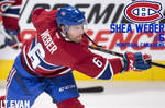 Shea Weber Montreal Canadiens Poster