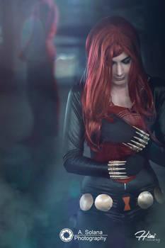Black Widow. [09] Daredevil, please...come back.