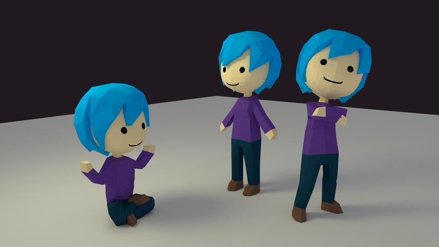 Blender Character Modeling Course : Blender d character training by waritsala on deviantart