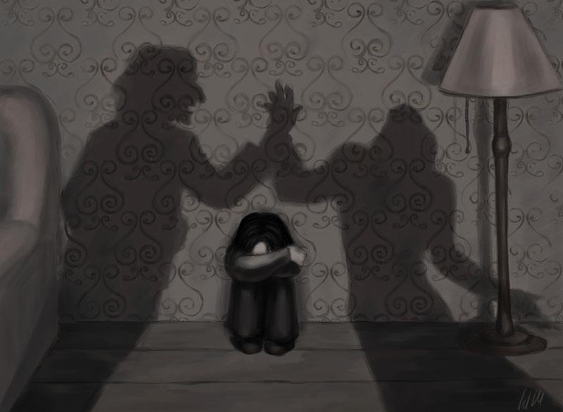 Severus' childhood by Umino-aka-Morskaya