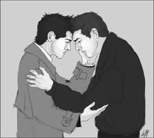 Dean x Castiel 4 by Umino-aka-Morskaya