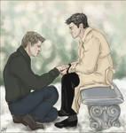 Dean x Castiel: Give Me a Sign