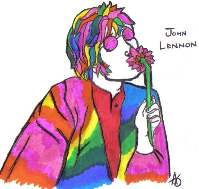 John Lennon by syntheticapple