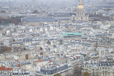 Paris from above by adenisej25