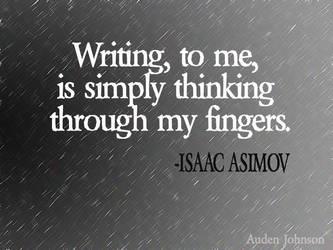 Writing-Asimov by adenisej25
