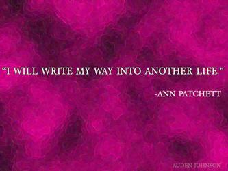 Writing-Patchett by adenisej25