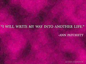 Writing-Patchett