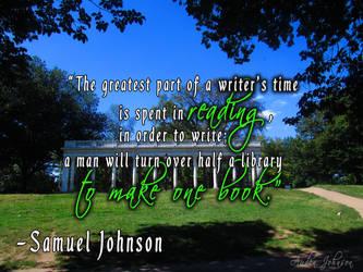 A Writer's Time-Samuel-Johnson by adenisej25