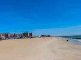 At the beach Coney Island