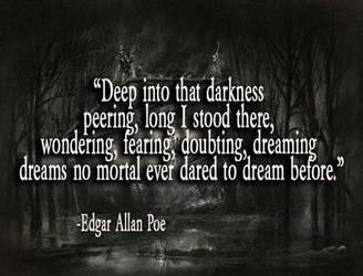 Edgar Allan Poe Quote by adenisej25