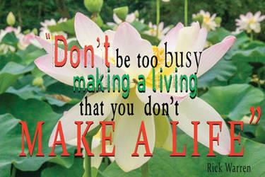 Make a life by adenisej25