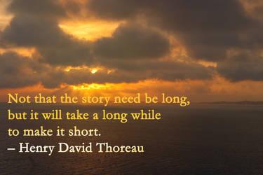 Thoreau quote by adenisej25