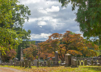Colorful Cemetery by adenisej25