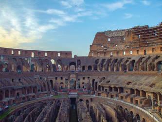 Rome Coliseum by adenisej25