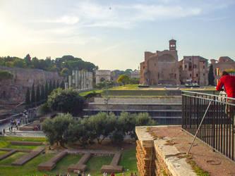 Rome ruins by adenisej25