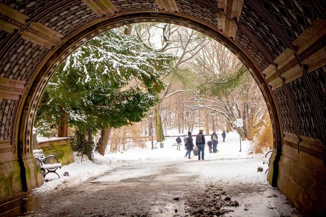 Portal to a winter wonderland by adenisej25