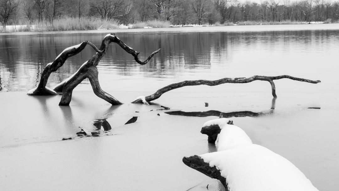 Winter Lake by adenisej25