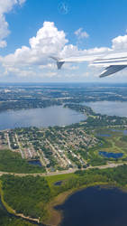Flying Over Florida