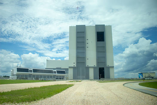 Kennedy Space Center Rocket Assembly Building