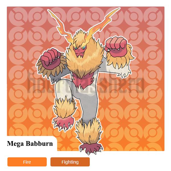 Mega Babburn by HourglassHero