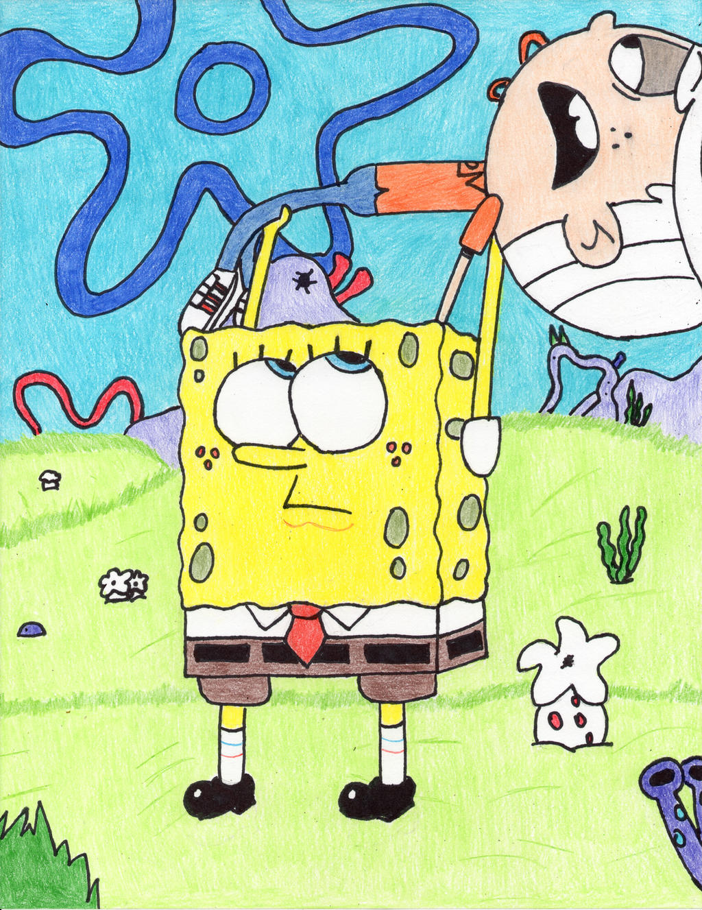 Crossovers on spongebobloversclub deviantart