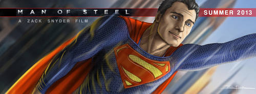 Man of Steel - Cover Art by jessekwe