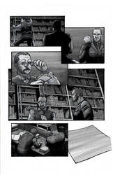 Ghost Town Issue 1 page 4 grays by jessekwe