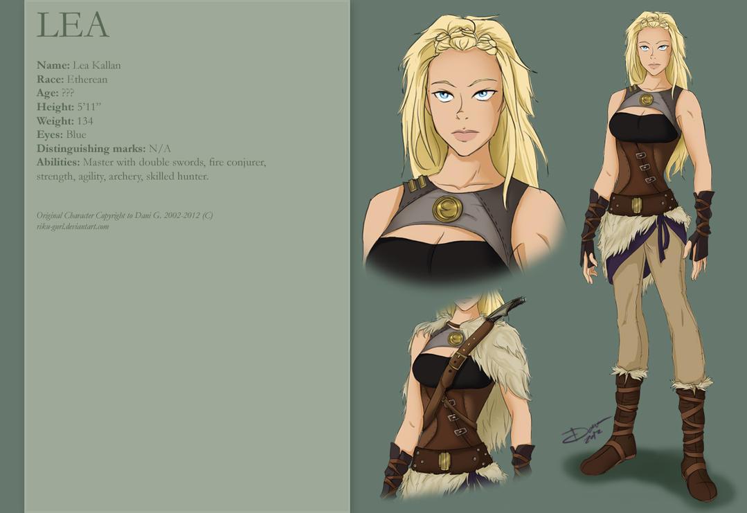 Lea Kallan Profile by riku-gurl