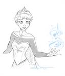 Elsa Sketches