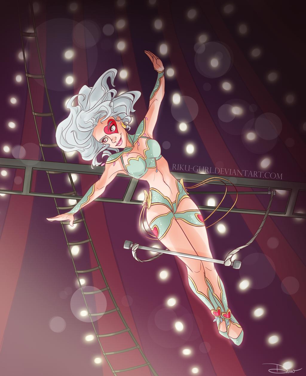 Trapeze Act by riku-gurl