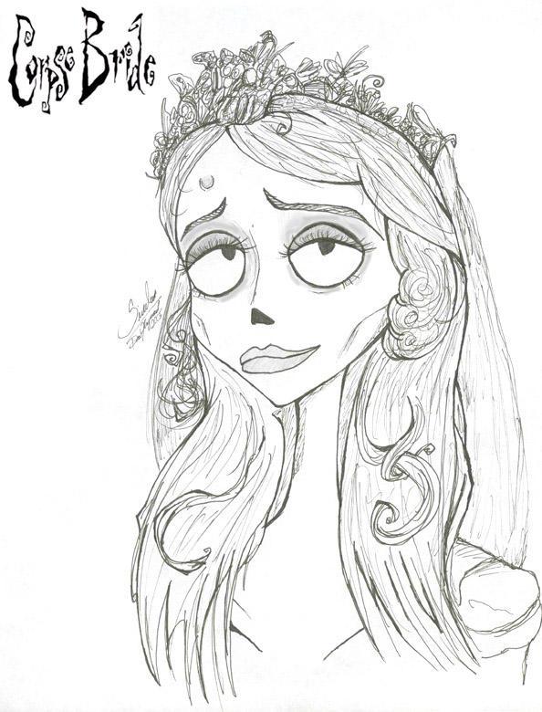the corpse bride by rikugurl on deviantart