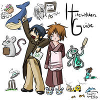 Hitchikers Guide Fanart by Doodler-Bunny