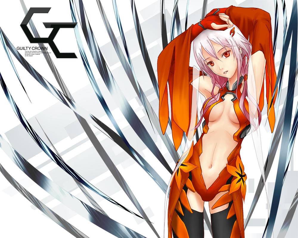 Guilty Crown - Inori Yuzuriha Desktop 1280x1024 by Po-Yu