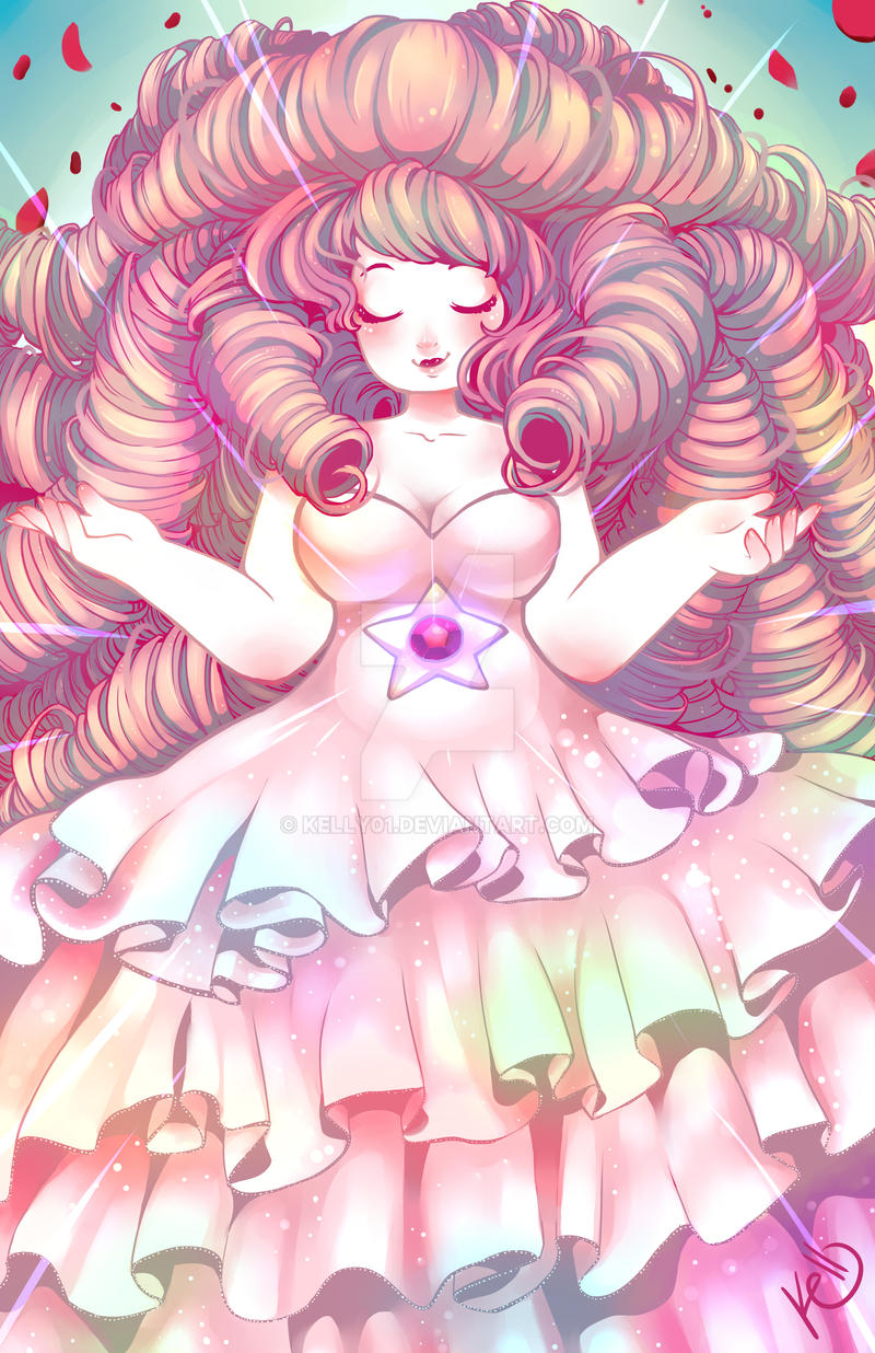[ENTRADA] - The Mermaid Faith Rose_quartz_by_kelly01-d8vc3sz