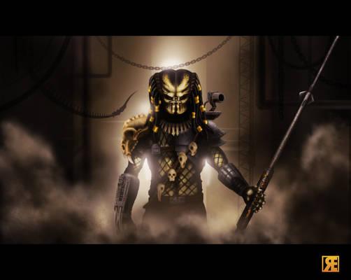 Predator without mask