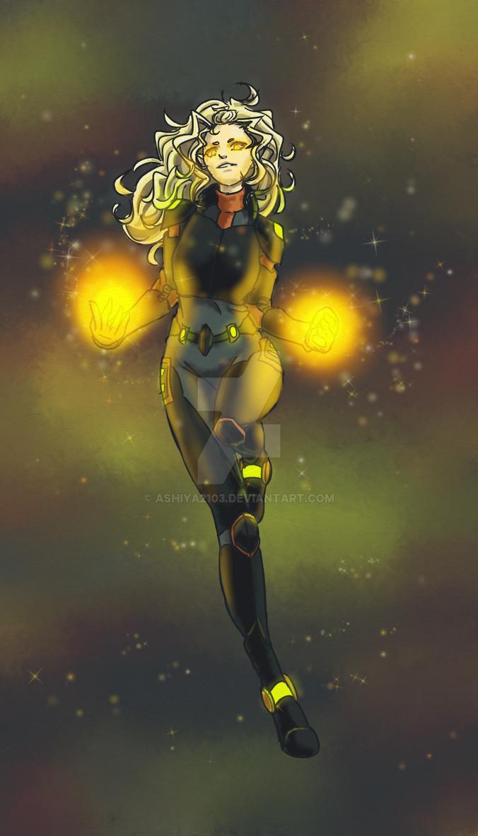 Voltron OC 2 by Ashiya2103