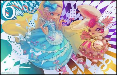 Alice in Wonderland by the-crazy-spork
