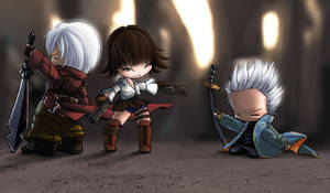 Devil May Cry 3 Babies