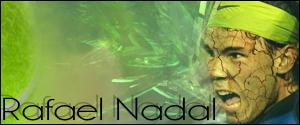 Rafael Nadal Signature