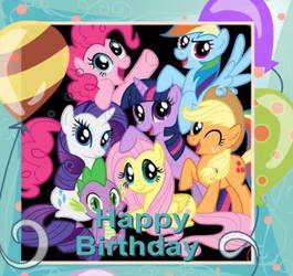 My Little Birthday Card by snakeman1992