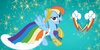 Rainbow Dash Icon by snakeman1992