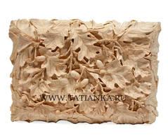 box - oak leaves and acorns by tatianka-ru
