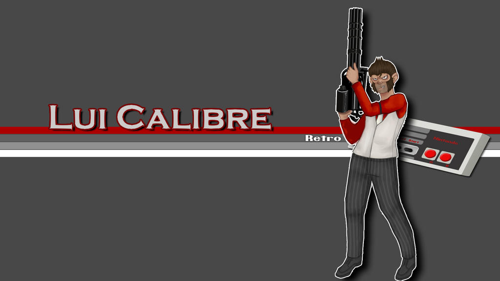 Lui Calibre Retro Wallpaper by Victor-nunol-the-bro on ... H20 Delirious Fan Art