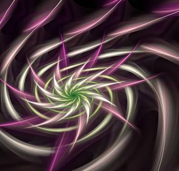 Swirly flower