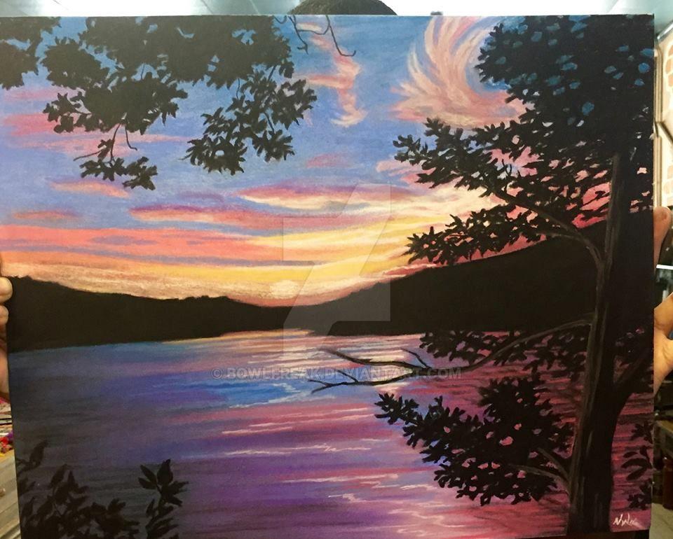 Sunset Pastel by BowlFreak