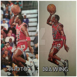 Jordan Reference vs drawing