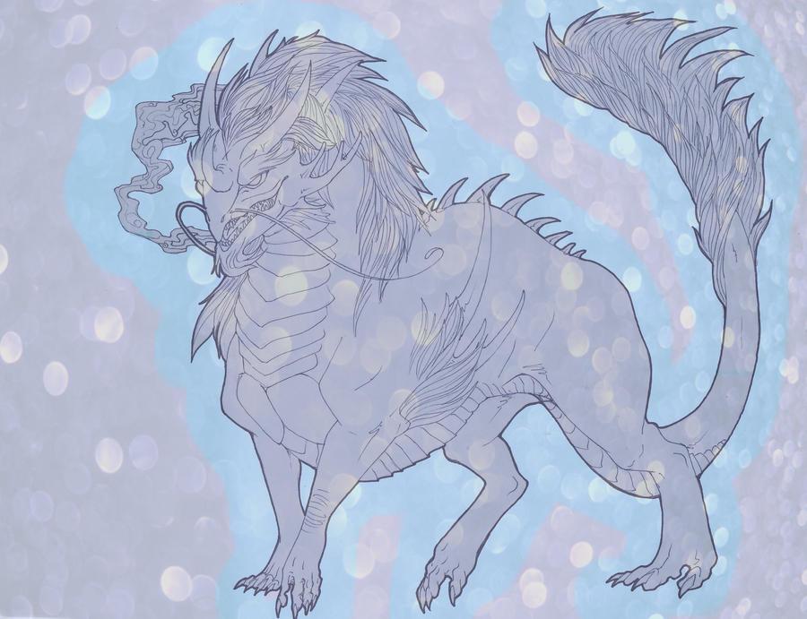 Celestial Kirin TRADE by niteclaw