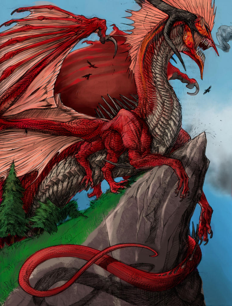 Red Dragon by niteclaw